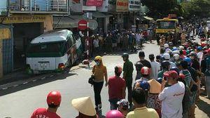 Tai nạn giao thông, người phụ nữ bán vé số tử vong dưới gầm xe buýt