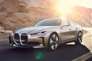 BMW vén màn Concept i4 - mẫu xe điện tương lai