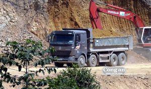 Công ty Nhất Hưng Nông Sơn 'qua mặt' chính quyền, khai thác đất trái phép