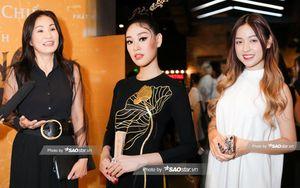 Hoa hậu Khánh Vân đọ sắc cô nàng 'hotgirl thả thính' Thanh Tâm trong họp báo ra mắt 'Phượng Khấu'