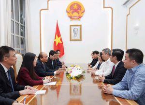 Thủ tướng tiếp lãnh đạo doanh nghiệp Trung Quốc