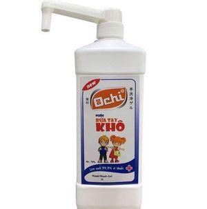Nước rửa tay khô Ochi đạt chuẩn chất lượng lưu hành