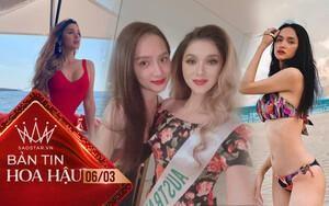 Hoa hậu chuyển giới Úc đọ sắc với Hương Giang tại Miss Int' Queen, fan trầm trồ 'Như 2 chị em'