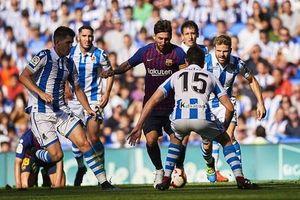 Barca - Sociedad: Đứng dậy sau thất bại