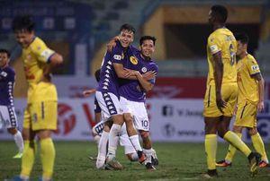Hà Nội FC dễ dàng thắng Nam Định với tỷ số 4-2