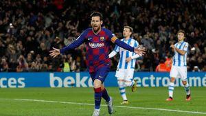 Giải cứu Barca, Messi xô đổ kỷ lục ấn tượng của Ronaldo