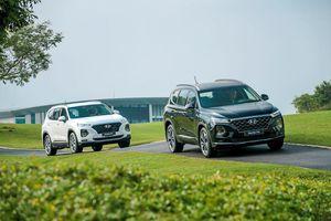 Doanh số xe Hyundai tiếp tục giảm mạnh