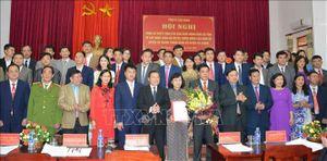 Sáp nhập Đảng bộ huyện Thông Nông vào Đảng bộ huyện Hà Quảng