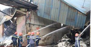 Cháy tại chi nhánh Công ty cổ phần giấy Trường Xuân