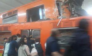 Tàu điện ngầm đâm nhau tại Mexico, hơn 40 người bị thương