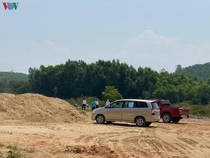 Đắk Lắk xác nhận việc khai thác cát trái phép đúng như VOV phản ánh