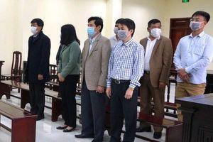 Xét xử 5 cựu cán bộ Thanh tra tỉnh Thanh Hóa nhận gần 600 triệu đồng của doanh nghiệp