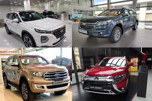 Xe SUV tháng 2: Ra sức giảm giá vẫn không cứu vãn được doanh số