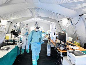 Bệnh viện Italy 'vật lộn' giữa cao trào dịch Covid-19