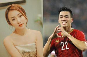 Hồng Loan và Tiến Linh mặc áo đôi, nhảy vũ điệu rửa tay