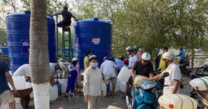6.000 khối nước sạch từ Bình Dương đến với người dân Bến Tre