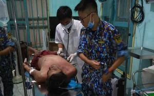 Bệnh xá Đảo Sơn Ca liên tiếp cứu ngư dân gặp nạn trên biển
