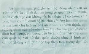 Bị tố quan hệ bất chính, bí thư xã ở Bạc Liêu nói gì?