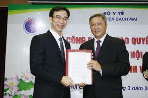 Giám đốc Viện Tim Hà Nội được bổ nhiệm làm Giám đốc Bệnh viện Bạch Mai