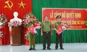 Điều động và bổ nhiệm nhiều lãnh đạo Công an Thừa Thiên Huế