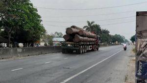 Giám đốc Công an tỉnh Tiền Giang chỉ đạo làm rõ xe chở gỗ trên QL1