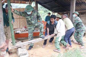 Tình quân dân gắn bó ở vùng biên giới Môn Sơn, Nghệ An