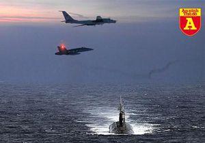 Máy bay săn ngầm khổng lồ Nga chạm mặt tàu ngầm hạt nhân mạnh nhất Mỹ