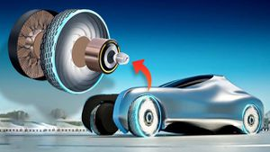 Xuất hiện lốp xe có tính năng tự phục hồi khi hư hỏng