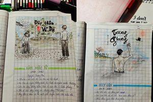 'Xin quỳ' với quyển tập học Văn sáng tạo của teen 'Gen Z': Xem là hết buồn ngủ!