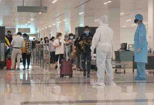 Sân bay Cần Thơ tiếp tục đón các chuyến bay đưa công dân về nước