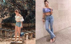 Sao Việt chuộng gu thời trang hở eo thon đón hè về