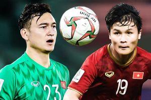 Đội hình những cầu thủ thuận chân trái của bóng đá Việt Nam
