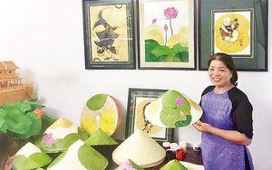 Sáng tạo từ chiếc nón làng Chuông