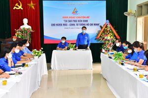Quảng Trị: Ra mắt Câu lạc bộ Lý luận trẻ cấp tỉnh