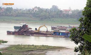 Cty CP Thái Sơn E&C 'tận hủy' tài nguyên cát trên sông Lô: Có thể tước ngay giấy phép?