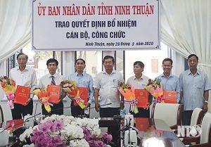 Điều động, bổ nhiệm nhân sự mới tại Quảng Nam, Ninh Thuận