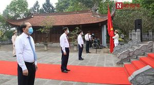 Lễ dâng hương Giỗ tổ Hùng Vương đặc biệt ở Phú Thọ