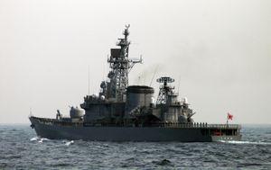 Chiến hạm Nhật rách vỏ khi va chạm tàu Trung Quốc