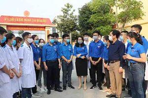 Tuổi trẻ tỉnh Nghệ An góp sức cùng phòng, chống dịch Covid-19