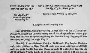 Sông Lô (Vĩnh Phúc): Cần giải quyết dứt điểm những tồn tại ở xã Quang Yên