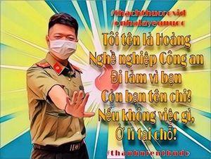 Lan tỏa thông điệp: 'Ở nhà là yêu nước'