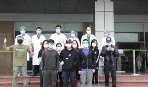12 bệnh nhân mắc Covid-19 được công bố khỏi bệnh