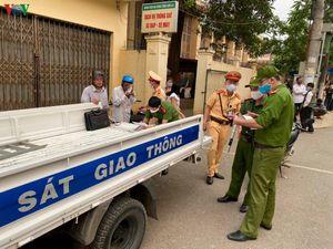 Sơn La xử lý nghiêm các trường hợp không đeo khẩu trang nơi công cộng