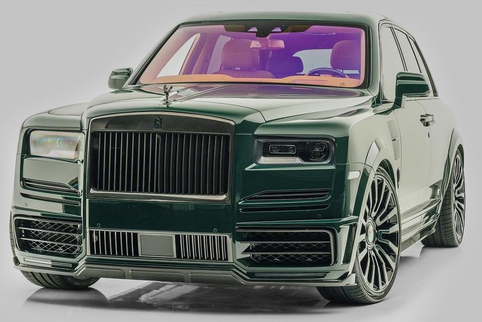 SUV siêu sang Rolls-Royce Cullinan Billionaire trị giá gần 860.000 USD