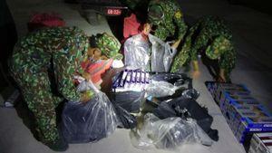 Thu giữ gần 4.000 gói thuốc lá ngoại nhập lậu