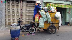 TP HCM chấn chỉnh việc thu gom, vận chuyển rác gây ô nhiễm
