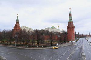 Moskva vắng vẻ khi thực hiện lệnh cách ly toàn thành phố