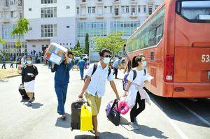Hơn 2.000 người hoàn thành cách ly ở KTX ĐH Quốc gia TP.HCM