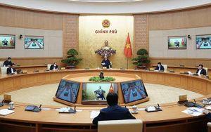 Thường trực Chính phủ họp bàn dự thảo Nghị quyết về hỗ trợ người dân gặp khó khăn vì dịch Covid-19