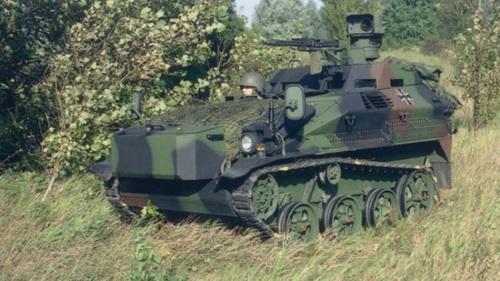 Đức nâng cấp vũ khí cho thiết giáp nhảy dù Wiesel 1